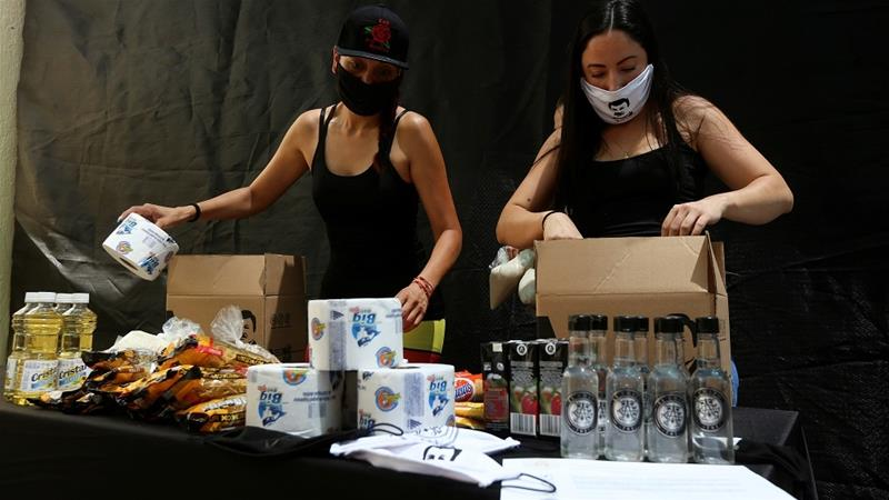 Mexico president tells gangs to stop handing out coronavirus aid