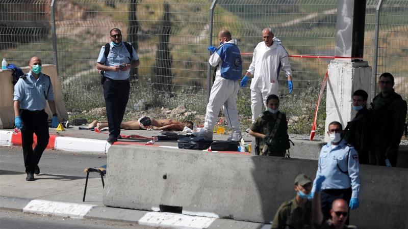 Israeli forces kill Palestinian attacker near Jerusalem