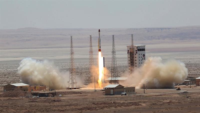 Iran launch military satellite amid Trump's 'shoot and destroy' threat