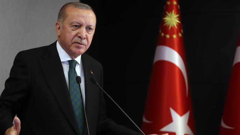 In letter to Trump, Turkey's Erdogan urges better understanding