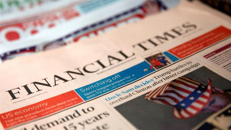 The Financial Times is understood to have opened an investigation into its reporter's alleged conduct [File photo/Shannon Stapleton/Reuters]
