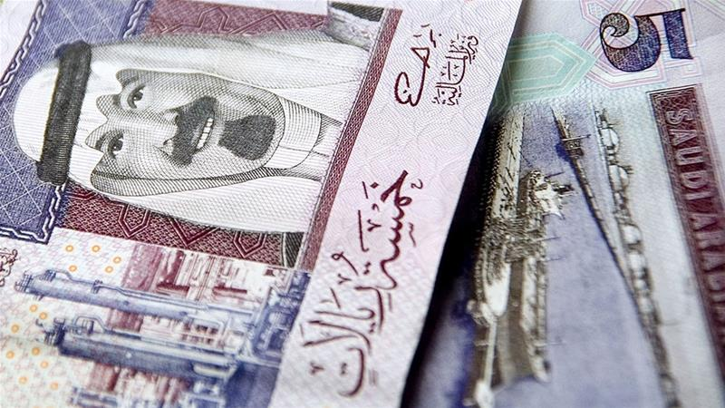 While the snapshot of Saudi Arabia's finances in March was bad enough, the outlook has turned even more grim since then, with oil prices having fallen lower, even briefly plunging below zero in the United States, as the coronavirus outbreak destroys demand for fuels [File: Saudi Riyal/Bloomberg]