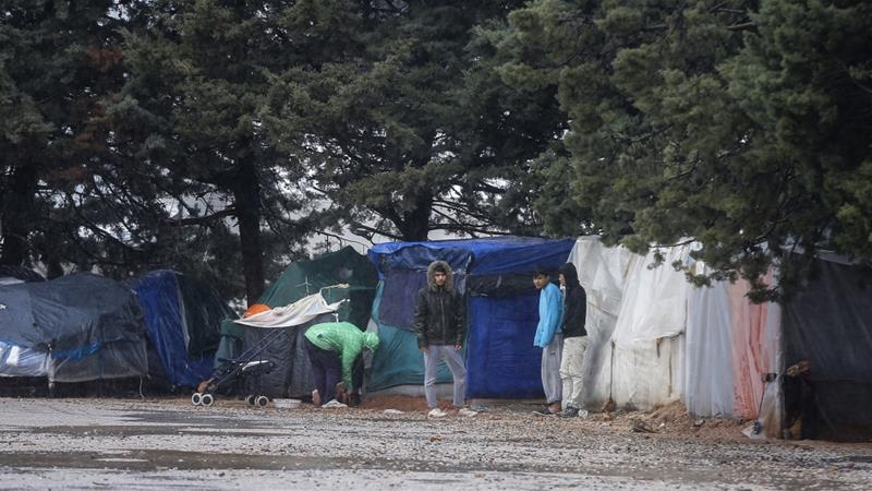 A migration ministry source said the Malakasa facility currently shelters more than 1,700 people.[Ayhan Mehmet/Anadolu Agency via Getty Images]