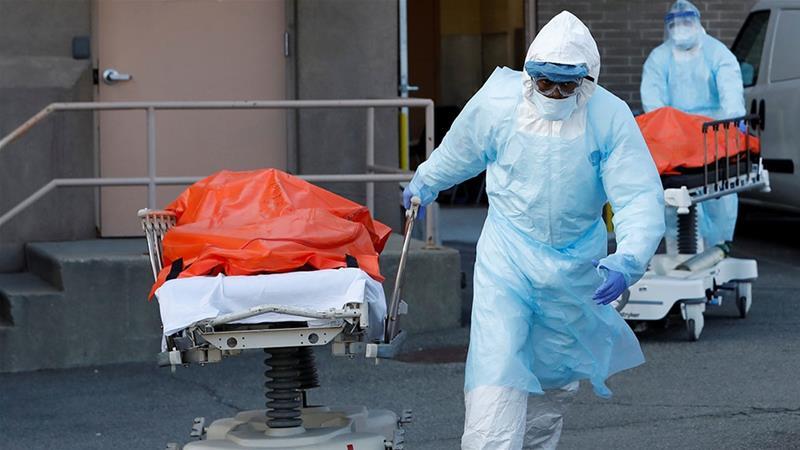 United States coronavirus death toll passes 10,000