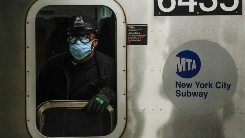 The US changed guidelines allowing some essential workers who were exposed to the virus to return to work [Frank Franklin II/AP]