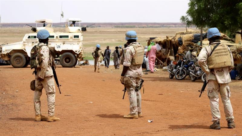 MINUSMA is often dubbed the UN's most 'dangerous mission' [File: Souleymane Ag Anara/AFP]