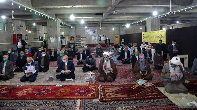 Iran recently reopened mosques in parts of the country deemed at low risk from the coronavirus  [Fatemeh Bahrami/Anadolu]