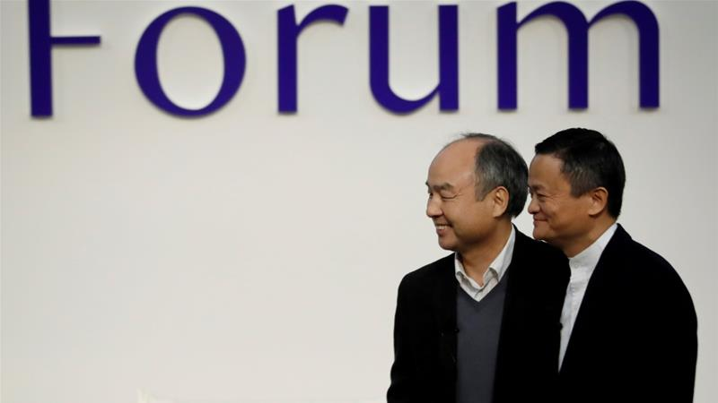 Jack Ma quits board as SoftBank unveils record $13bn loss