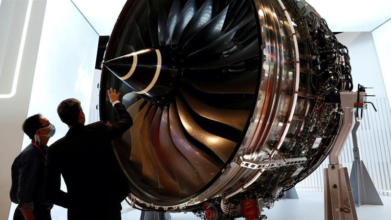 Britain's Rolls-Royce to cut 9000 jobs amid air travel slump