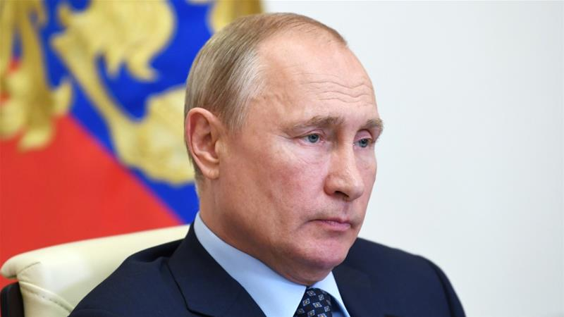 Russian President Vladimir Putin announced surprise constitutional reforms earlier this year, including a provision that would reset the clock on his term limits [Reuters]