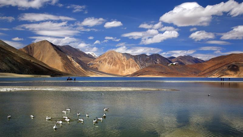 Indian and Chinese troops have been involved in a face-off since May in India's Ladakh region [File: Manish Swarup/AP]