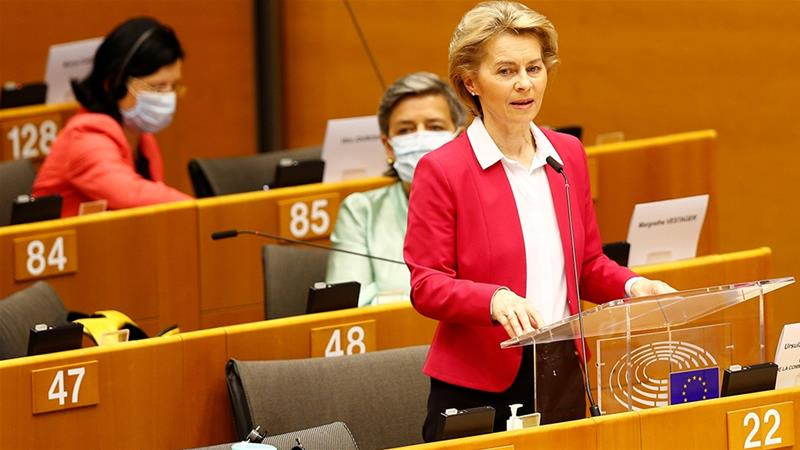 Von der Leyen unveils €750 billion recovery fund