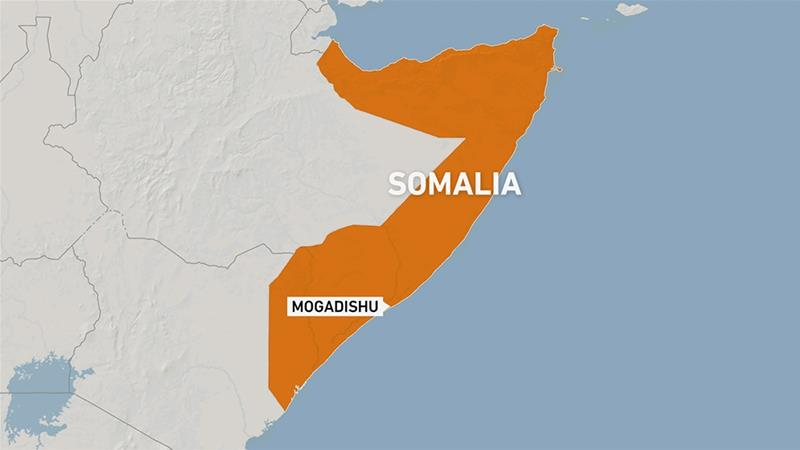 Eight soldiers dead in blast outside Somali army base