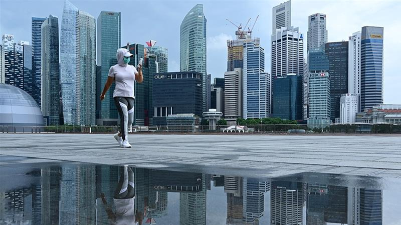 Virus-hit Singapore economy to shrink up to 7%