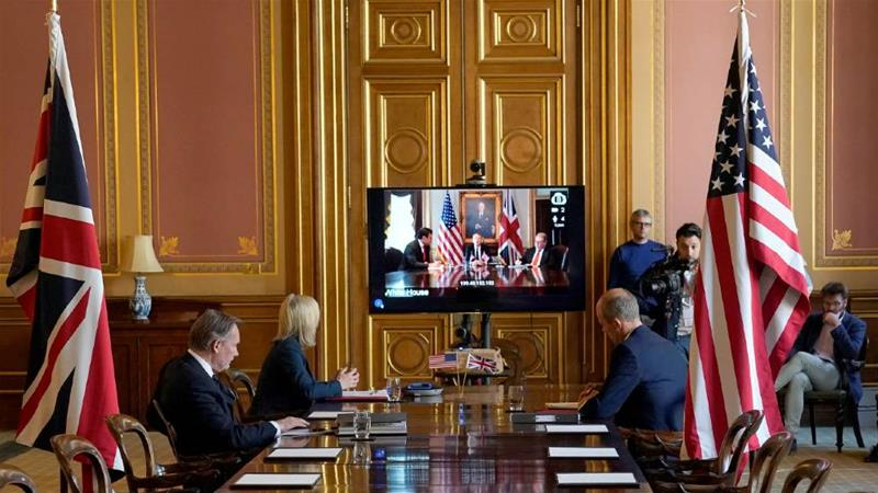 US-UK trade talks begin, nearly four years after Brexit vote | USA ...