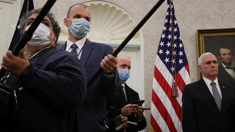 Second White House staffer tests positive for coronavirus