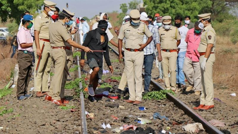 15 migrant workers mowed down by goods train in Maharashtra's Aurangabad