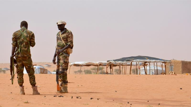 The attackers also kidnapped a guard and sabotaged the camp's water supply [File: Boureima Hama/AFP]