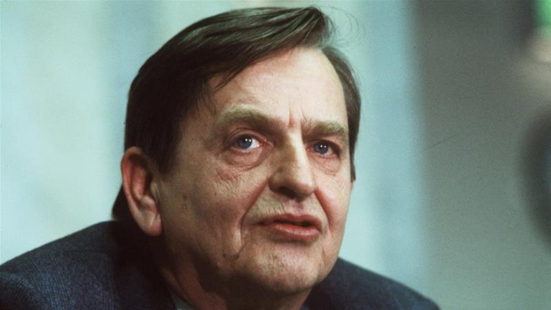 Sweden: Late Palme assassin named 34 years later