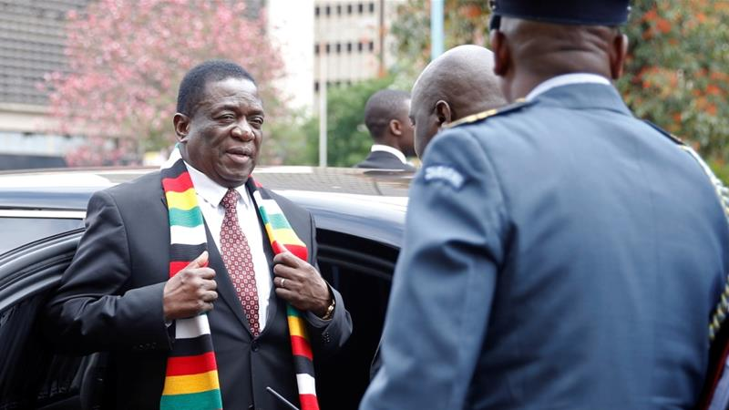 Relations between President Emmerson Mnangagwa's government and the West have soured over his human rights record [File: Philimon Bulawayo/Reuters]