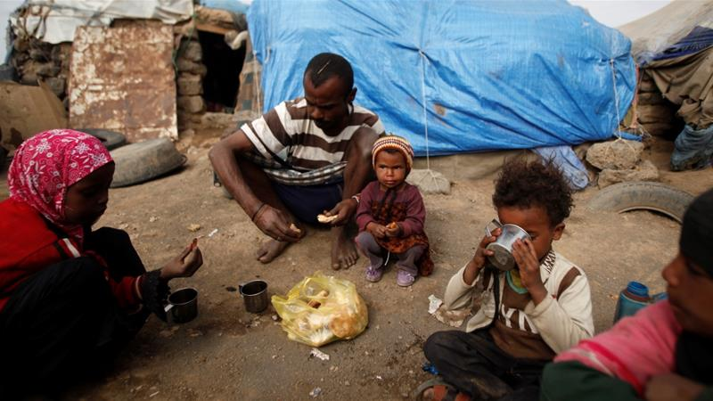 The Yemeni rial has depreciated and there has been a 10 to 20 percent rise in food prices in just two weeks, according to the UN [Khaled Abdullah/Reuters]