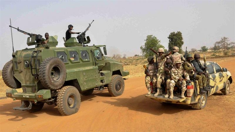 The Nigerian government has been fighting the armed group, Boko Haram, and its offshoot, <span>Islamic State</span> West Africa Province (ISWAP), for years leaving thousands dead and displacing millions in the country's northeastern region [File: Henry Ikechukwu/EPA]