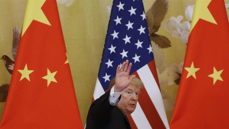 In China's eyes, four more years under President Donald Trump could spell more geopolitical isolation for the US. In contrast, a Joe Biden administration could see the US teaming up with its allies to curtail Beijing's widening influence [FILE: Thomas Peter/Getty via Bloomberg]