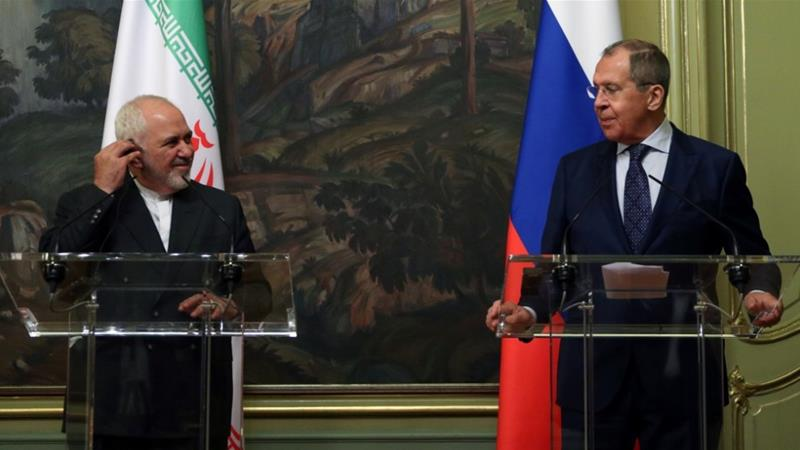 Zarif described developments around the Iranian nuclear deal as 'very dangerous' [Russian foreign ministry handout/AFP]