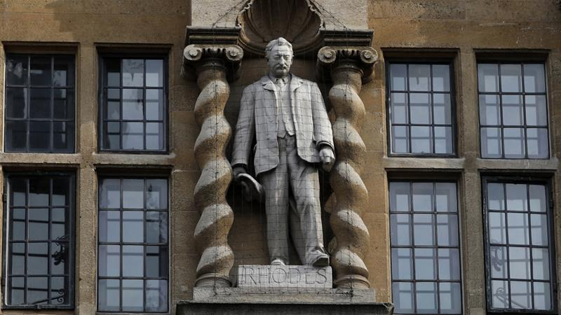 Oxford college recommends removal of Cecil Rhodes statue