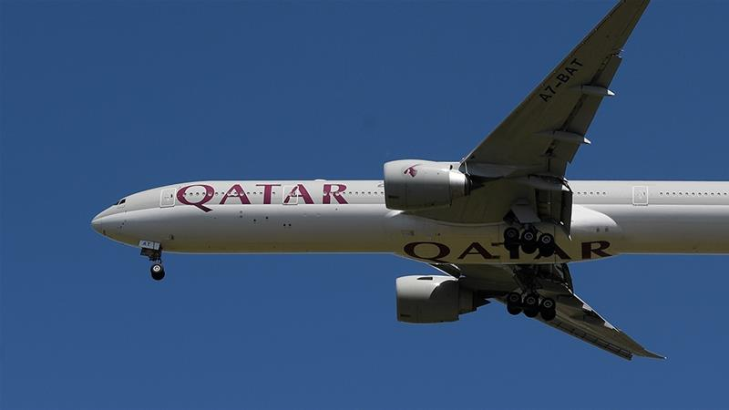 After a plunge in demand for air travel, Qatar Airways CEO says the airline has no room for new aircraft and will instead shrink its fleet of approximately 200 jets [File: Toby Melville/Reuters]
