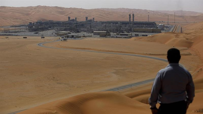 Aramco is letting go of mostly foreign staff across several divisions, with affected employees being informed earlier this week, people familiar with the matter tell Bloomberg news [File: Simon Dawson/Bloomberg]