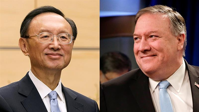 Pompeo Meets China's Top Diplomat in Hawaii, State Department Says