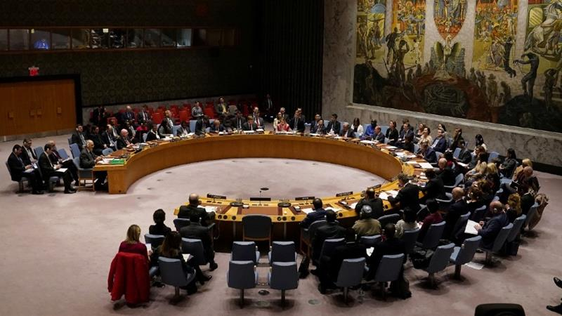 Kenya was elected to the UN Security Council for 2021-2022, defeating Djibouti after first-round voting by the General Assembly failed to choose between the two candidates [File: Carlo Allegri/Reuters]