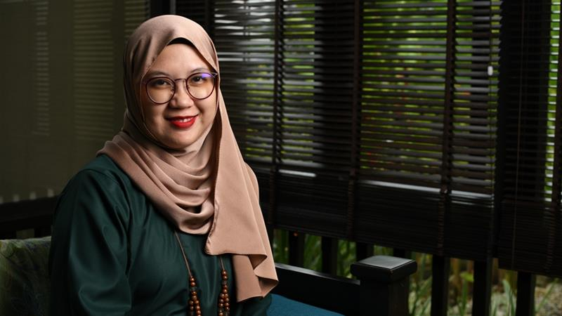 Malaysian writer and young adult author Hanna Alkaf [Lim Eng Lee/Supplied]