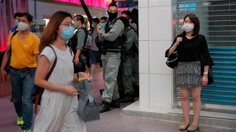 The planned national security law has alarmed foreign governments as well as democracy activists in Hong Kong, who were already concerned that Beijing was tightening its grip over the semi-autonomous city [Kin Cheung/AP]