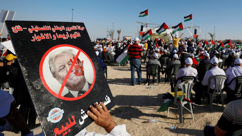 Thousands of Palestinians protest against Israeli annexation plan ...