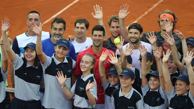 Borna Coric positive for coronavirus after Djokovic event