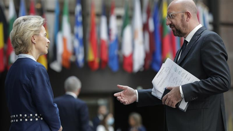 EU, China summit to cool tensions over coronavirus, Hong Kong ...