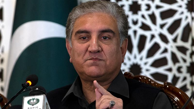 FM Qureshi condemns harassment of Pakistani diplomats in India