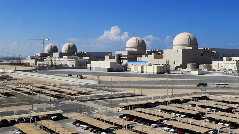 In March the UAE finished loading fuel rods into one of four brand-new nuclear reactors at the Barakah nuclear power station - the first on the Arabian Peninsula File Barakah Nuclear Power PlantAFP