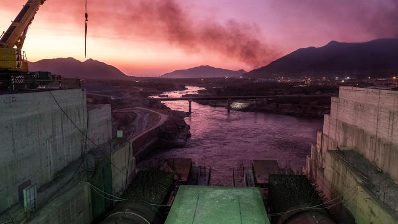 Ethiopia says the dam will provide electricity to millions of its nearly 110 million citizens but Egypt asserts that it poses an existential threat [Eduardo Soteras/AFP]