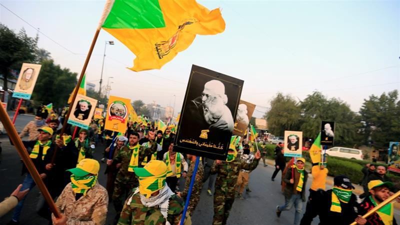 Iraq raids offices of powerful Iranian-backed militia