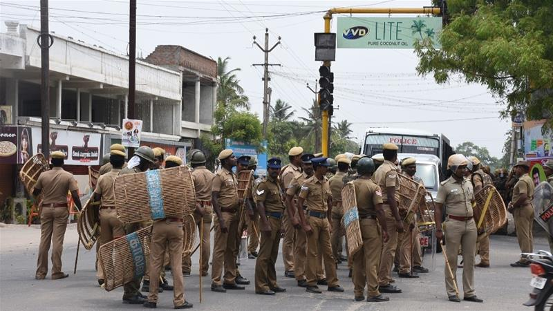 According to the 2018 National Crimes Record Bureau data, Tamil Nadu accounted for the second highest deaths in custody, but not a single police personnel was arrested, said Amnesty India [File: AFP]