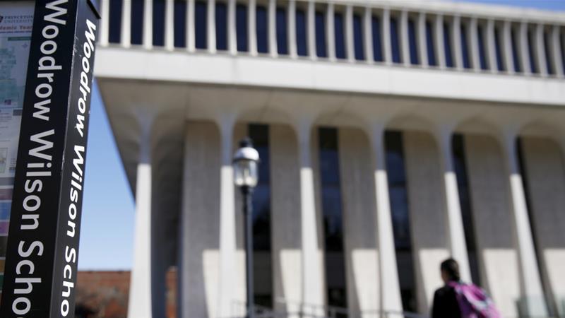 Princeton University removes President Wilson's name from school