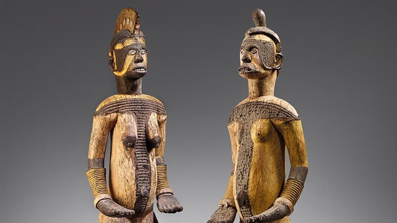 The Igbo Statues [Christie's]