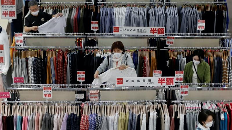 Japanese policymakers are hoping a rebound in private spending, which accounts for more than half of the economy, will help support growth as uncertainty about the global demand outlook threatens to delay a recovery [File: Kim Kyung-Hoon/Reuters]