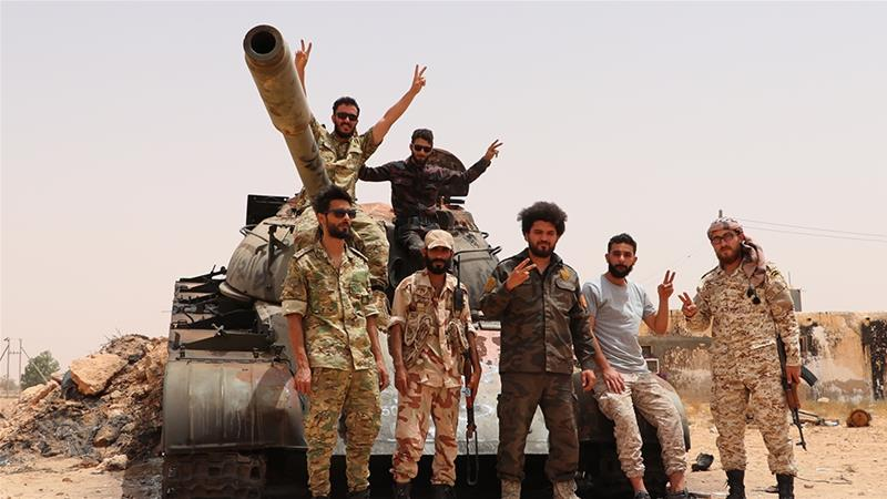 GNA forces are preparing to launch an attack to seize the key city of Sirte [Mucahit Aydemir/Anadolu]