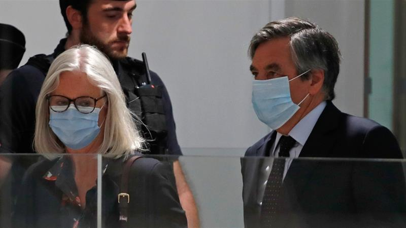 Former French PM Fillon handed five-year sentence for fraud