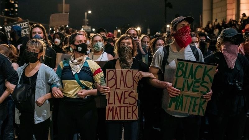 George Floyd: US protesters risk COVID-19 'for health of nation ...
