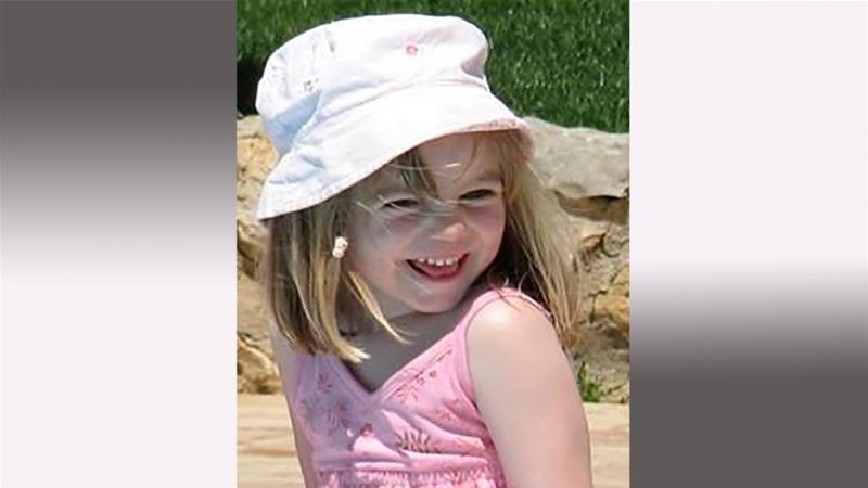McCann went missing from her family's holiday apartment on May 3, 2007 [Metropolitan Police handout/AFP]